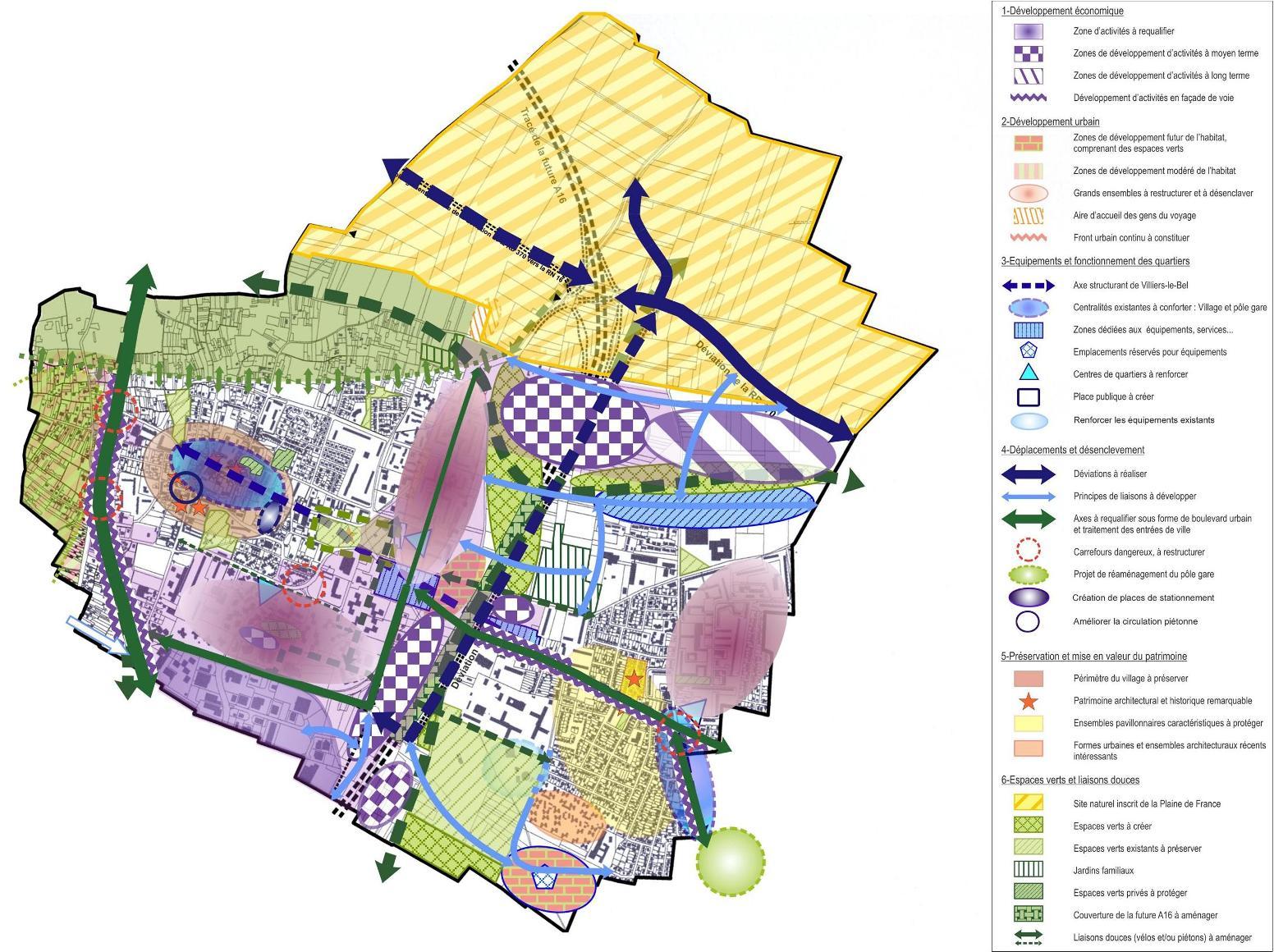 Projet de ville plan de r f rence atelier tel for Projet de plan